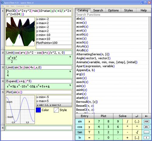 logiciel, calcul, représentation