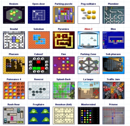 Jeux mathématiques, logique et construction